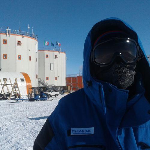 Afbeelding van #MijnEindeWereld op Antarctica